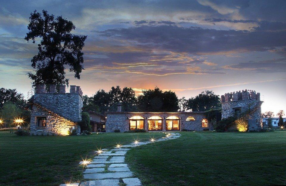 Villa, Imobiliário, Casa, De Luxo, Residencial