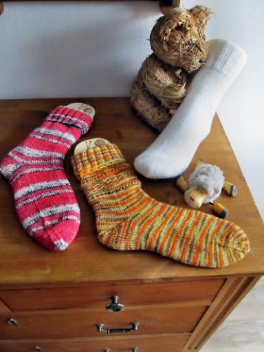 Wollmoni´s Socken Apil 2012