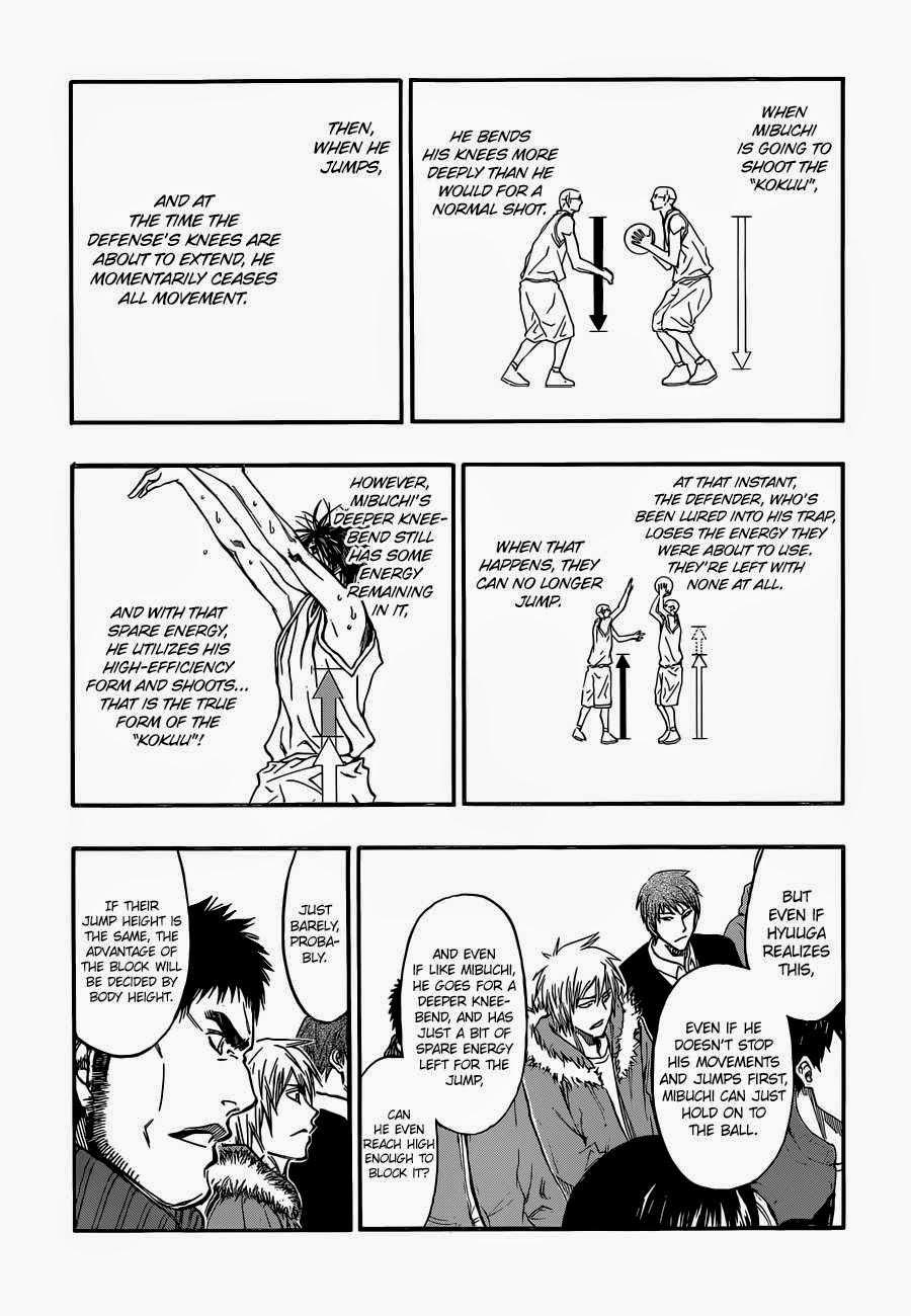 Kuroko no Basket Manga Chapter 259 - Image 12