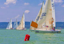 J/24s sailing on Lake Balaton- Hungary