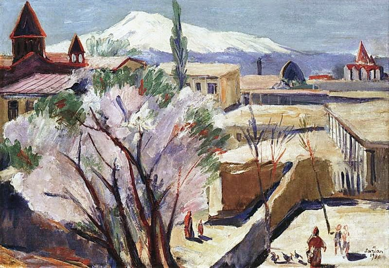 Martiros Saryan - In old Yerevan, 1930