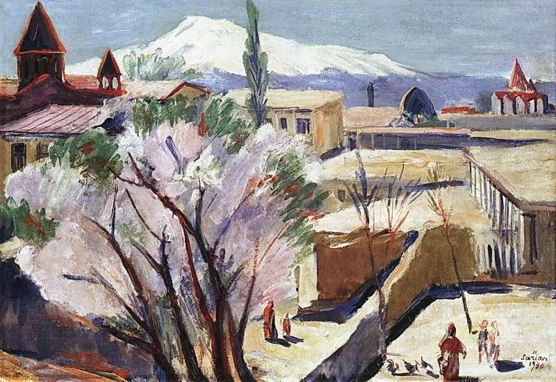 Martiros Saryan - In old Yerevan, 1930
