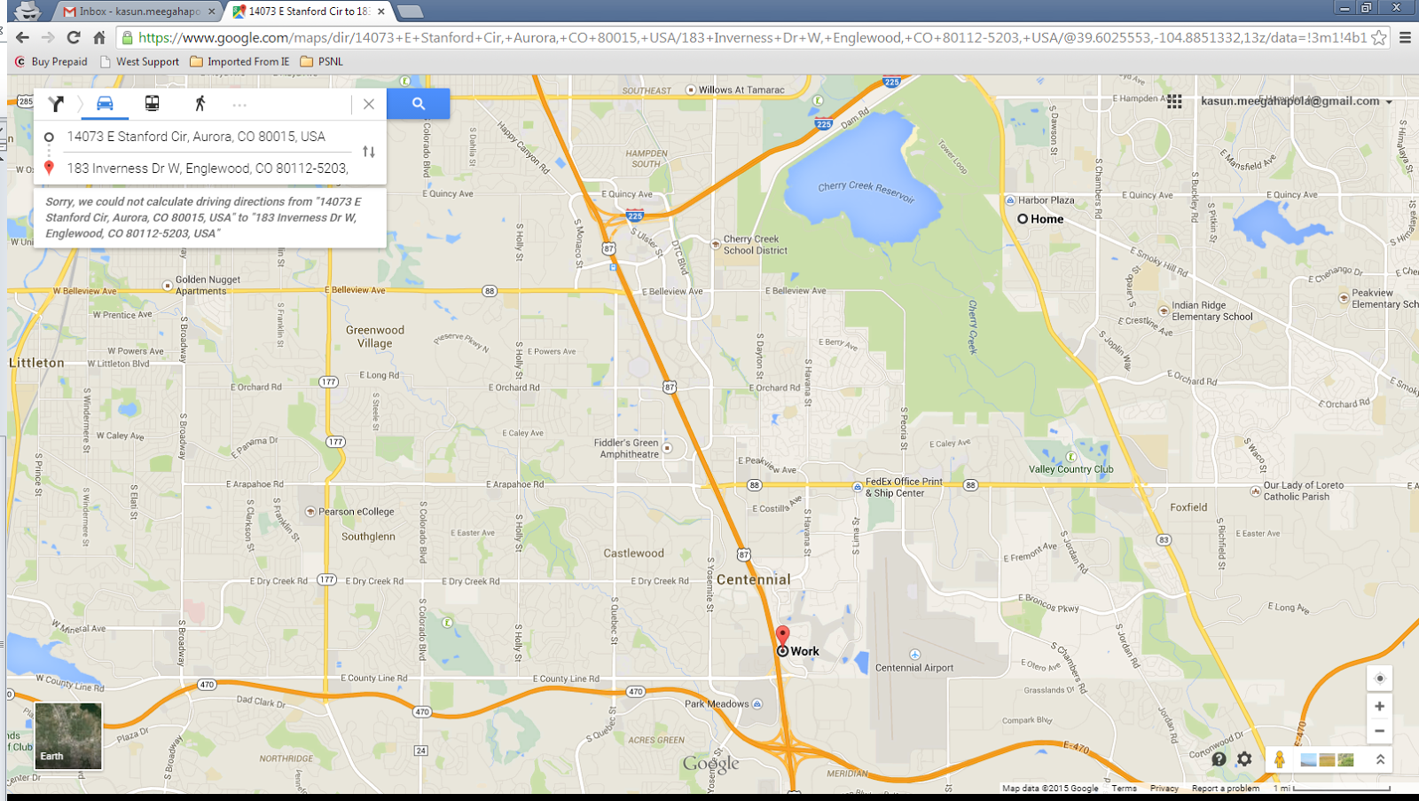 Google maps are having issues showing driving directions on Chrome – Google Map Travel Directions