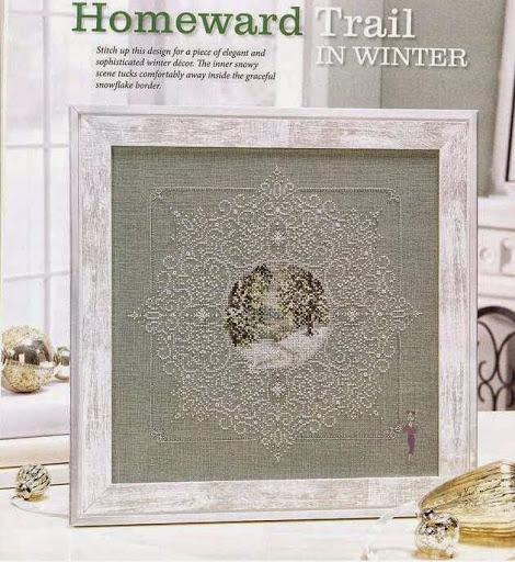 Homeward Trail in winter chart