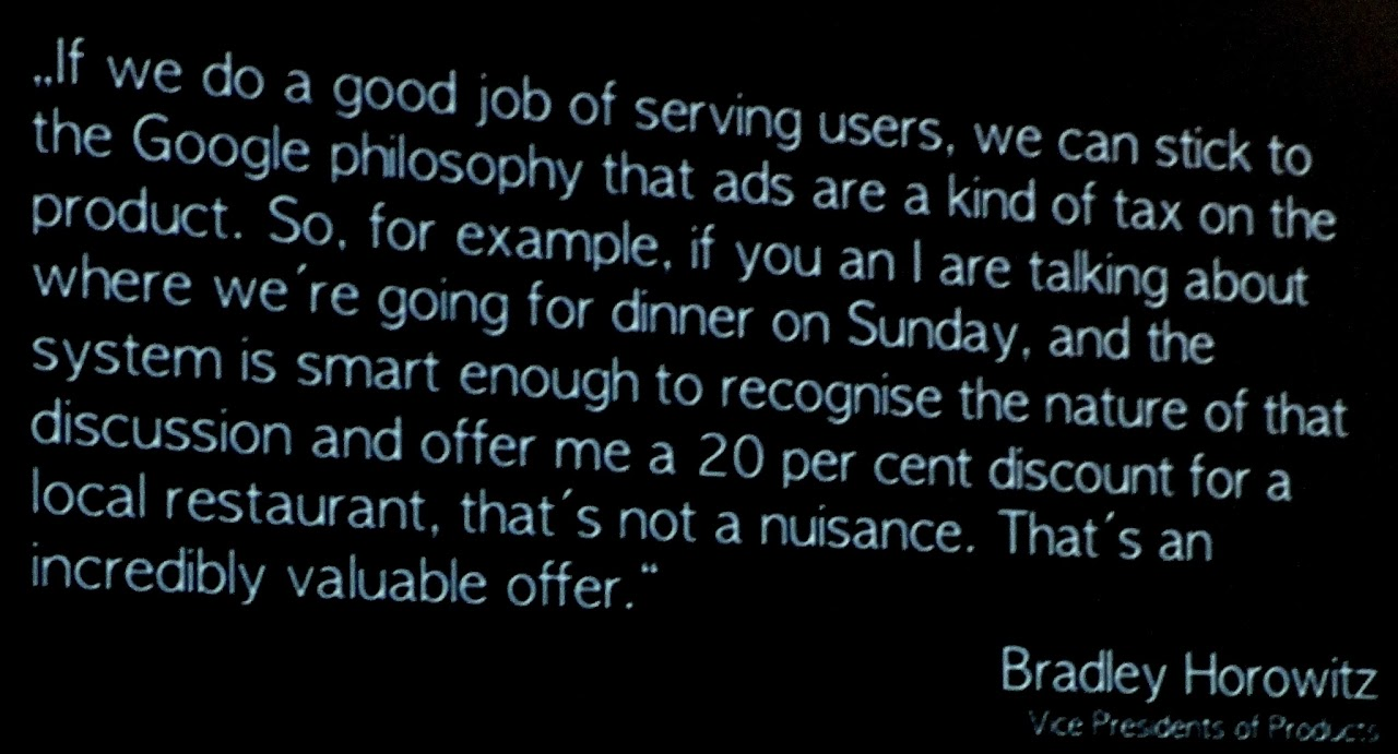 Zitat Bradley Horowitz