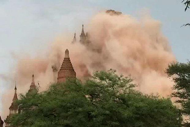 Myanmar: Myanmar quake damages 60 pagodas