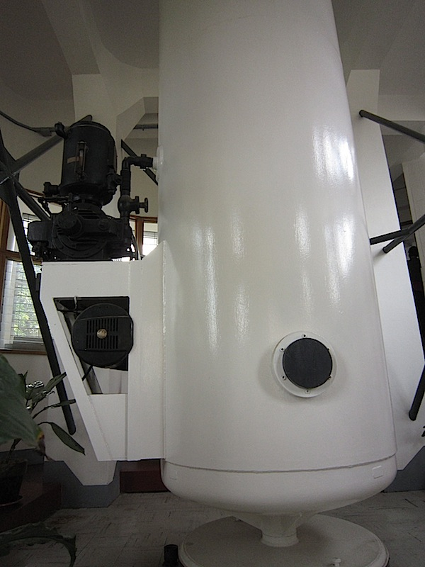 old spectroheliograph at the Manila Observatory