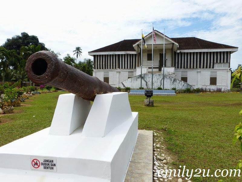 Ngah Ibrahim's Fort (Matang Historical Complex)
