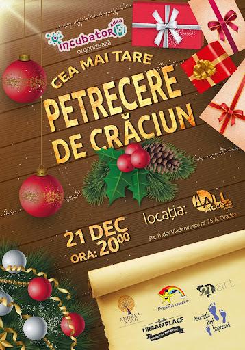 Petrecerea de Crăciun 2014 organizată de incubator107 #1