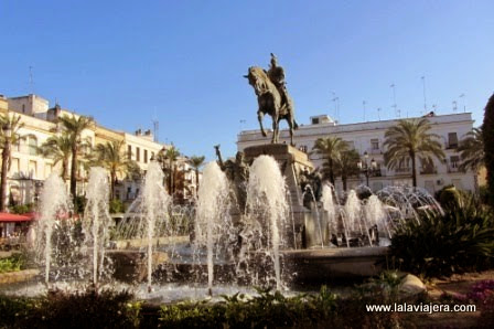 Plaza del Arenal, epicentro de Jerez