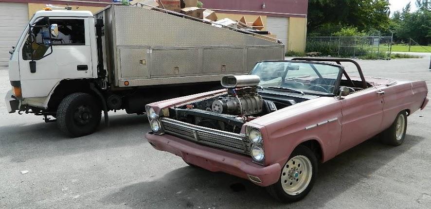 Dashboards to Desktops Flagship Mercury Comet 1965 & Dumptruck 1994