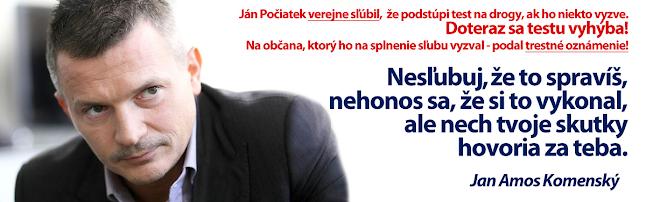 Ján Počiatek, Jan Amos Komenský, nesľubuj