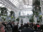 The conservatory where the wedding was held