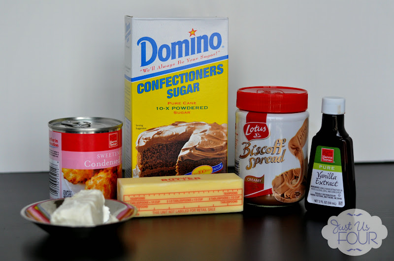Biscoff Frosting Ingredients