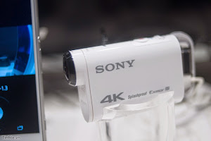 Sony Action Cam quay phim 4k tại CES 2015