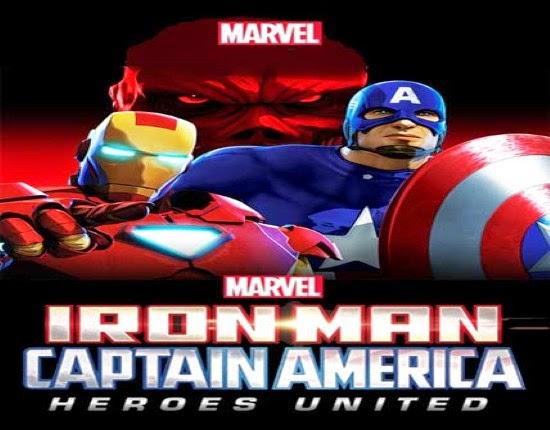 مشاهدة فيلم Iron Man and Captain America Heroes United  مترجم