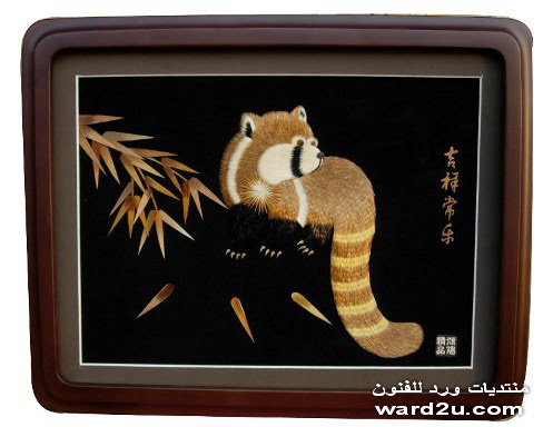 قشره خشب فى تابلوهات يابانيه رائعه