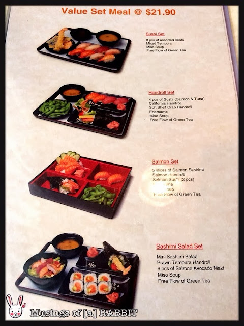 Menu - Value Set Meals