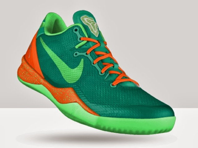 best sneakers e5f7e 3a99d NIKEiD Kobe 8 – Solid Upper Options