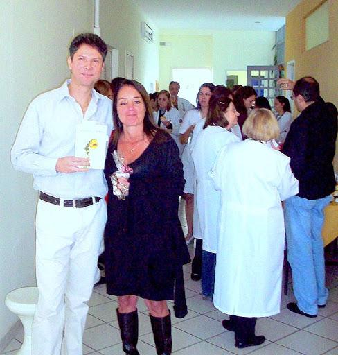 Sergio Prado e Drª. Ana Geogia