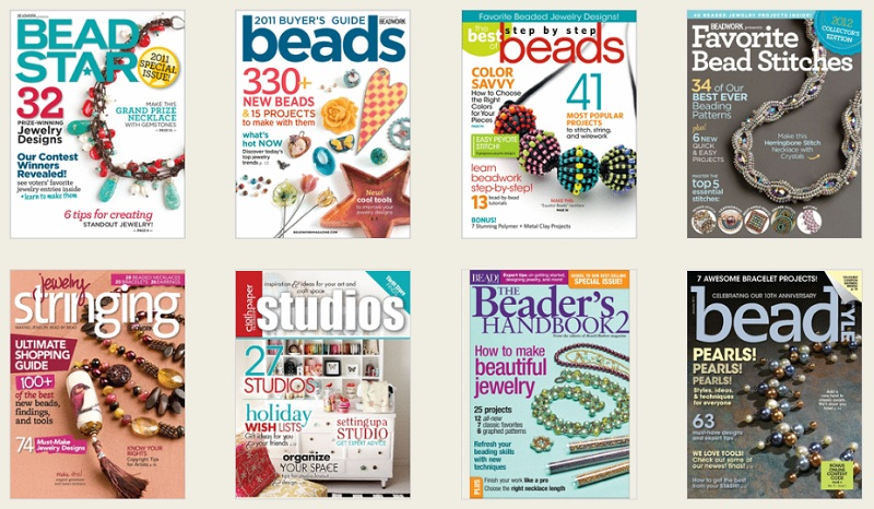 Beading Magazines from Zinio