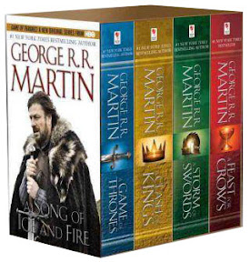 A Song of Ice and Fire Coffret intégrale Tomes 1 à 4 A Game of Thrones, A Clash of Kings, A Storm of Swords, A Feast for Crows