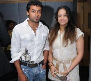 Jyothika better actor than Surya