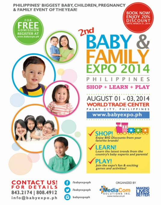Baby and Family Expo in August 2014