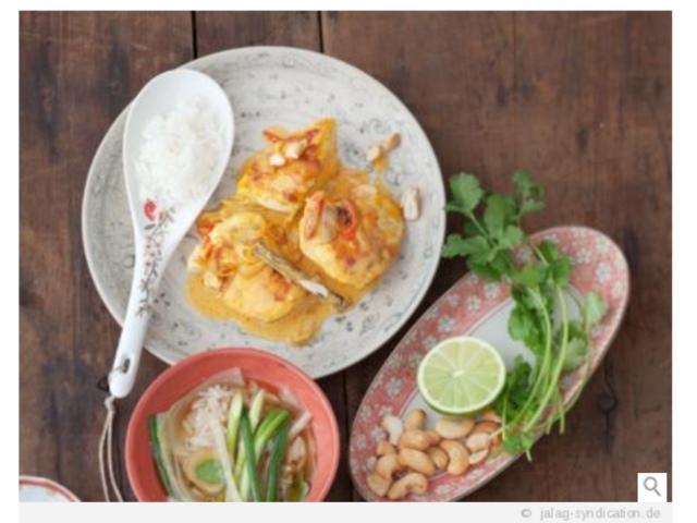 Kokos-Huhn