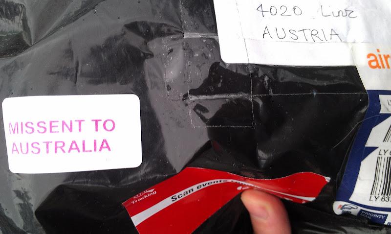 Missent to Australia