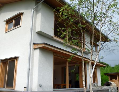 循環の家モデルハウス