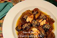 Tagin de vedella amb prunes, el clàssic entre els clàssics