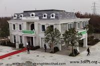 Ngôi nhà được xây dựng bằng máy in 3D - Thi công trang trí nội thất