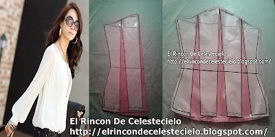 ba7d72a58a El Rincon De Celestecielo  Trazo de manga larga englobada estilo ...