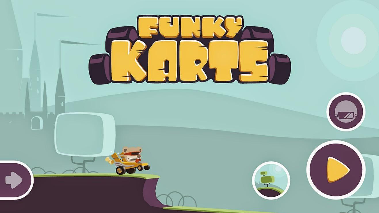 Nuovo divertente gioco per Android: Funky Karts