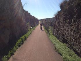 Unas fotos de nuestra ruta por la Vía Verde del Tajuña, abril 2013