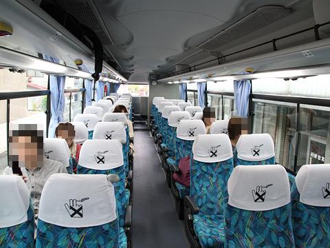 沿岸バス「特急はぼろ号」・391 車内