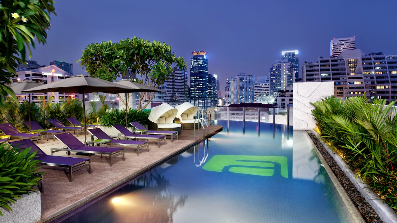 Aloft is our recommended hotel in Bangkok