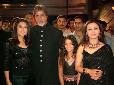 """Amitabh Bachchan in black"""