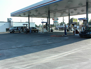 Typical Gas Station site.