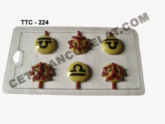 Cetakan Coklat TTC224 Zodiac Libra