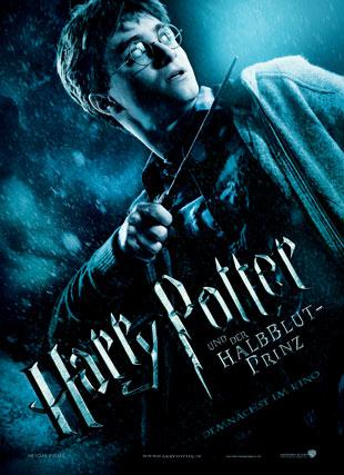Poster Harry Potter und der Halbblut-Prinz  Foto ©Warner Bros.