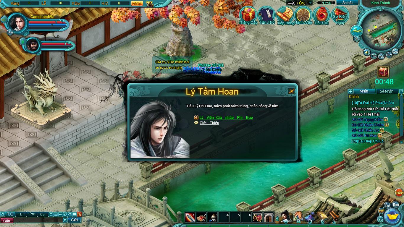 Hình ảnh thử nghiệm webgame Tiểu Lý Phi Đao - Ảnh 6