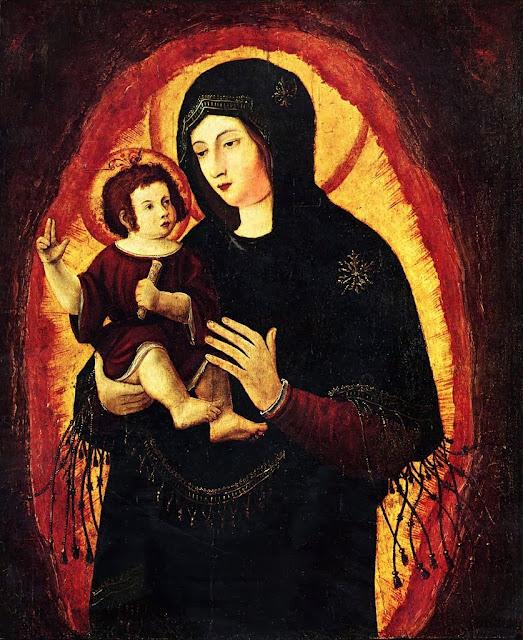 Albrecht Altdorfer - Madonna (Schöne Maria von Regensburg)