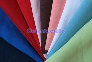 Muestra de telas de algodón