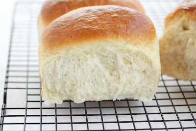 close-up of a Hokkaido Milk Toast roll