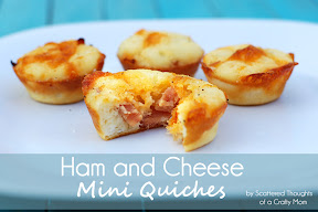 Ham and Cheese Mini Quiches