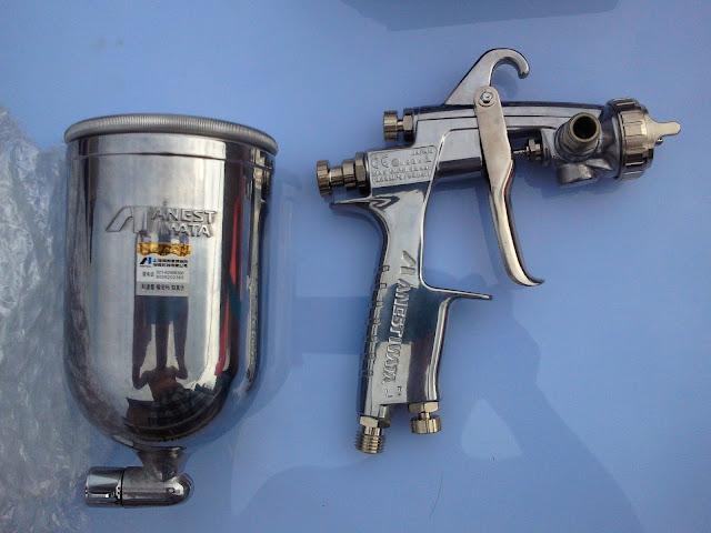 Súng airbrush , súng sơn giã đá , súng sơn xe , súng sơn cao cấp - 21