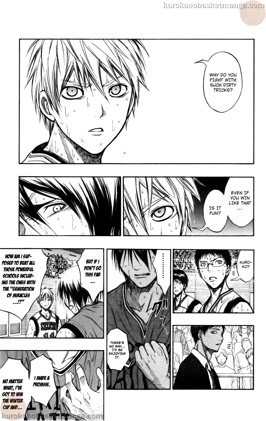 Kuroko no Basket Manga Chapter 103 - Image 03