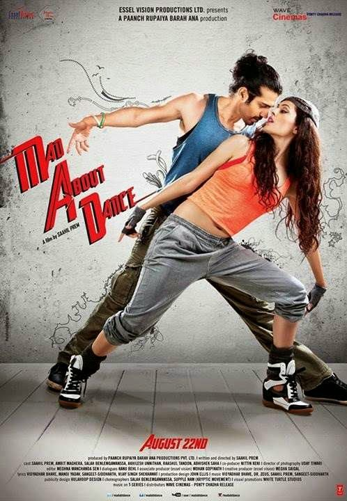 Poster Of Hindi Movie Mad About Dance (2014) Free Download Full New Hindi Movie Watch Online At alldownloads4u.com